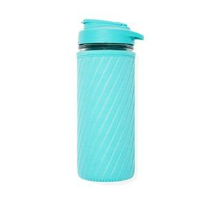New Masontops Glass Water Bottle with Neoprene
